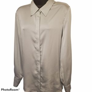 Vince Camuto Long Sleeve Button Blouse
